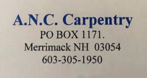 anc carpentry